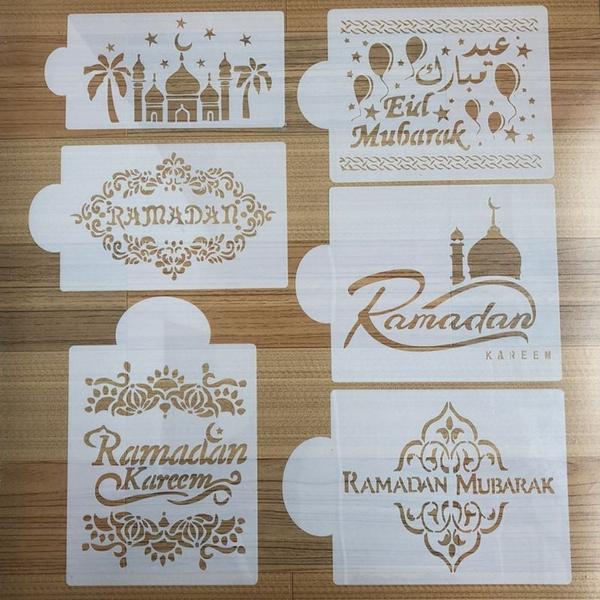 Coffee, stencil, eidmubarak, Festival