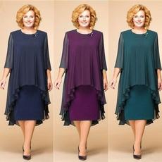 gowns, Plus Size, plus size dress, chiffon