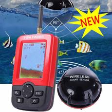 fishinggear, portablefishfinder, Outdoor Sports, sonarfishfinder