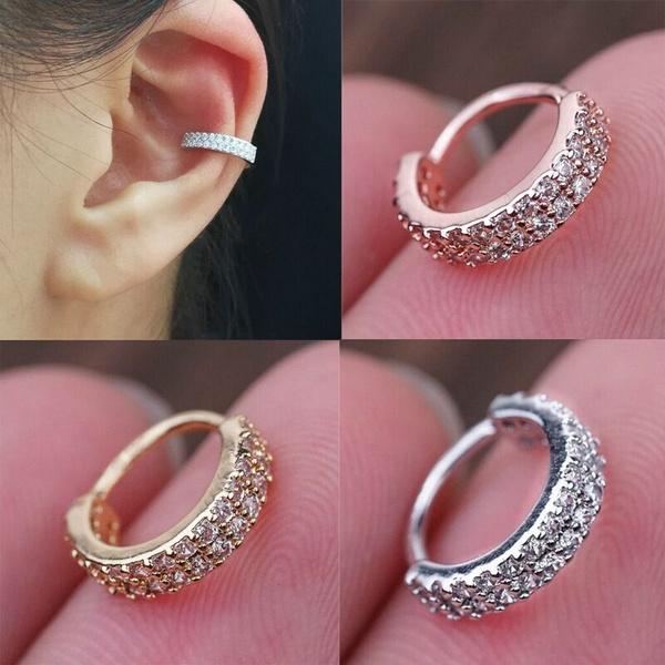 tinyhoopearring, Hoop Earring, Jewelry, cartilage earrings
