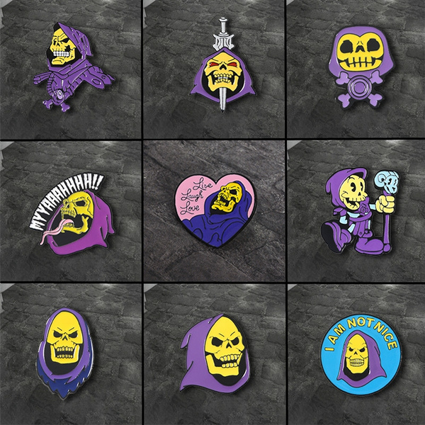 Clothes, Hood, skeletorpin, Pins