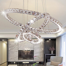ledcrystalchandelier, Modern, led, Home Decor