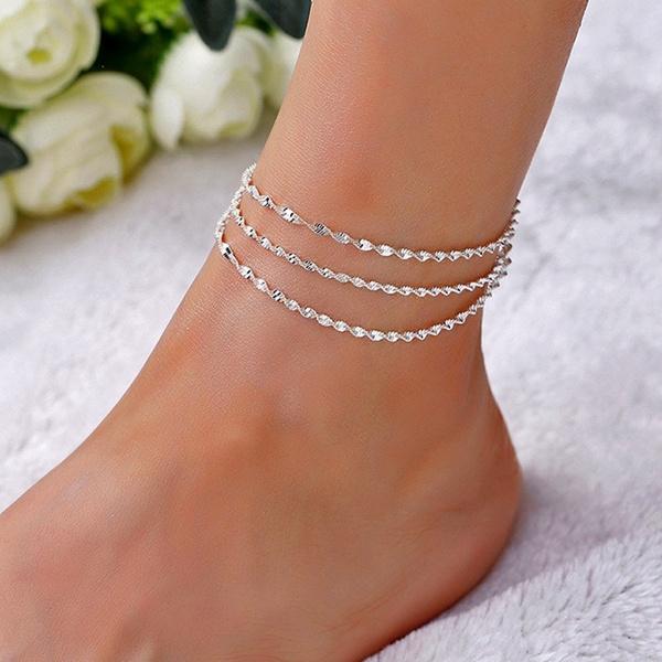 ankletswomen, Fashion, Jewelry, Chain