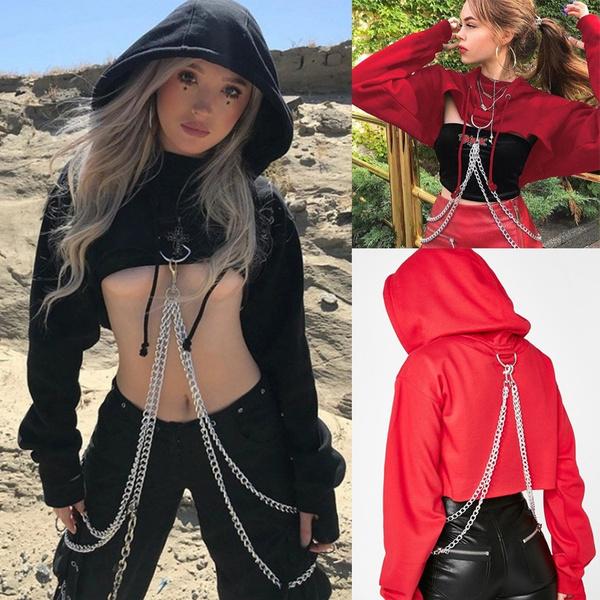 Goth, Fashion, Chain, gothic clothing