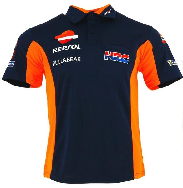 Motogp Marc 93 T Shirts Moto Racing Repsol Polo Shirt Hrc Motorcycle Motorbike Motocross Sports T Shirts Wish