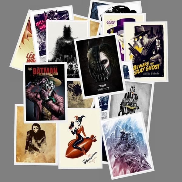 comicsticker, Car Sticker, pullboxsticker, batmancomic