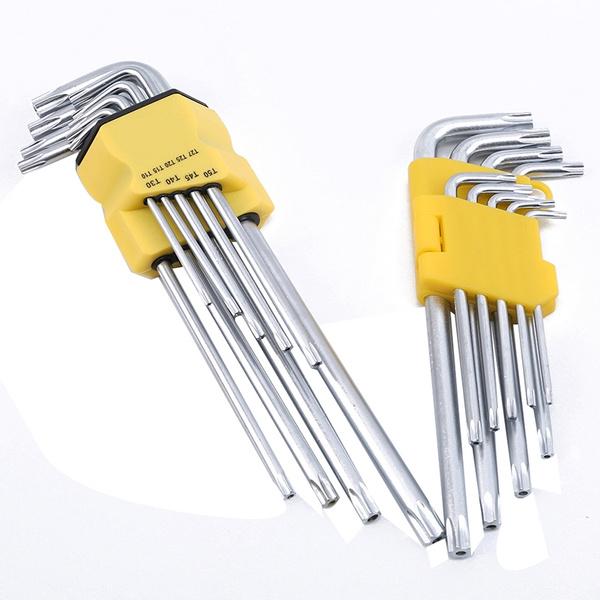 25 Pack Alfa Tools HK15261 T40 Short Arm Torx L Key