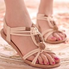 Summer, Flip Flops, Sandals, sandalsflat