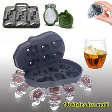 icemoldcube, Ice, skull, icemoldmaker