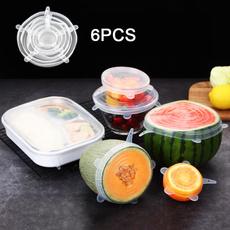 Elastic, Silicone, Cover, Fruit