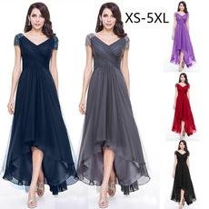 Plus Size, Sleeve, chiffon, Dress