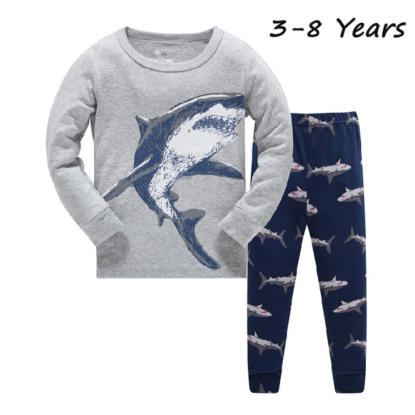 Shark, kids clothes, Sleeve, boypant