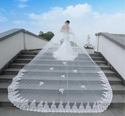 weddingveil, cathedralveil, bridalveil, hair