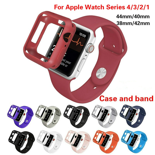 case, iwatch44mmband, Apple, Silicone