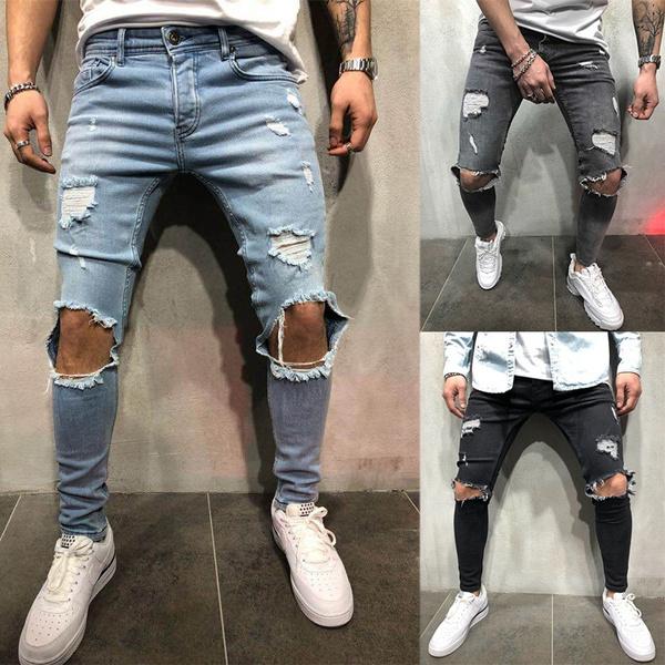 Jeans, ripped, Fashion, pants