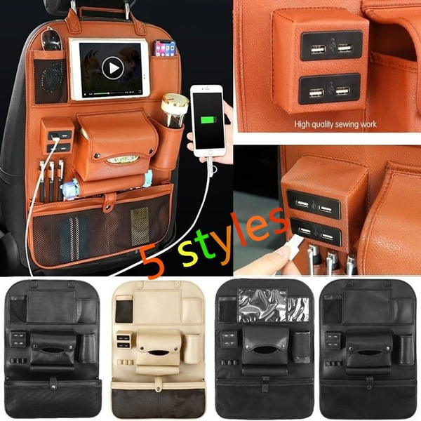 Pocket, carstoragebag, usb, Cars