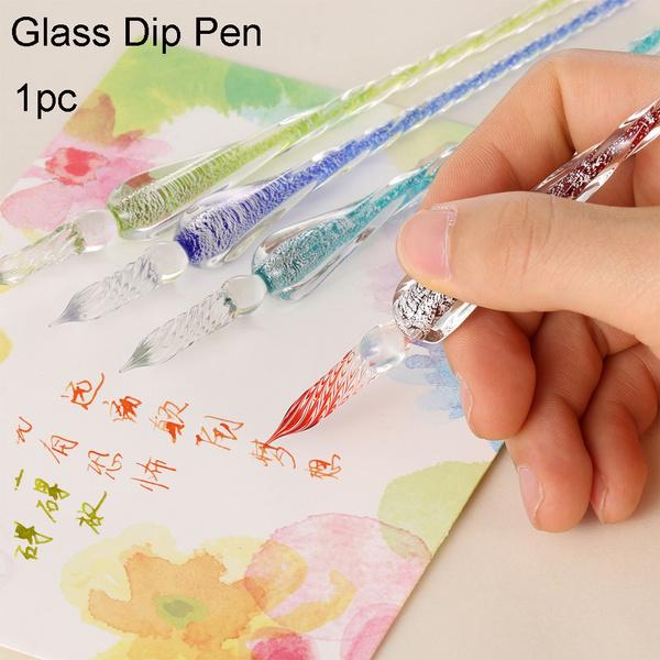 Glass, dipping, dippen, Pen