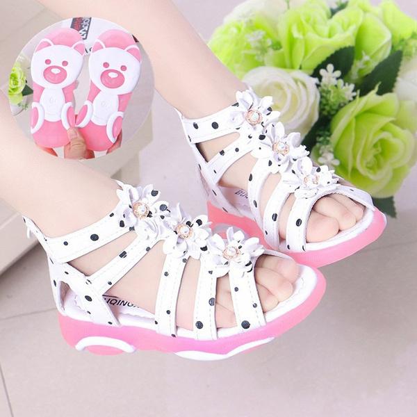 girlsflowerssandal, Summer, girlssummersandal, Sandals