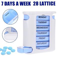 case, Box, medicinetabletbox, 7day