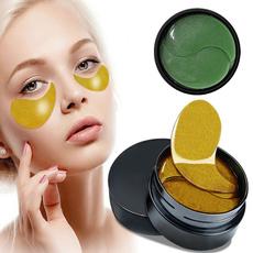 golden, beautymask, greenseaweedeyemask, eye