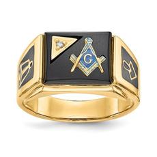 Steel, bikerring, DIAMOND, Jewelry