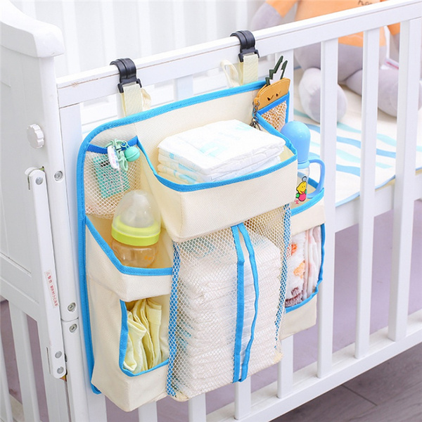Baby, cribbedstoragebag, babybeddingaccessorie, Waterproof
