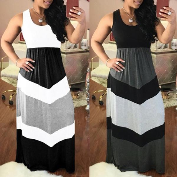 sleeveless, Plus Size, high waist, Summer