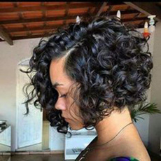 wig, hairstyle, simulationhumanhair, bobwig