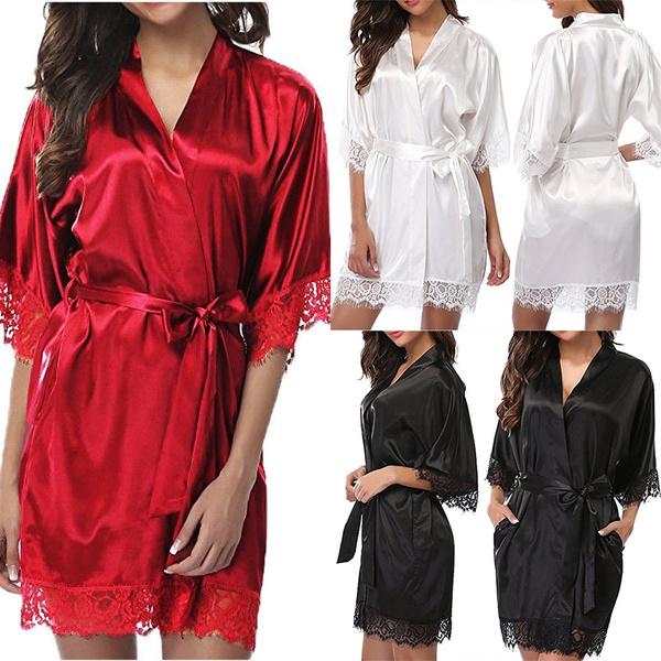 sexy sleepwear dress, night dress, nightwear, Lace