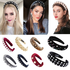 retrohairband, pearls, headwear, Vintage
