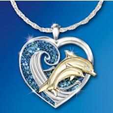 Blues, Heart, DIAMOND, 925 sterling silver