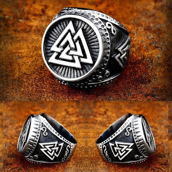 viking, men_rings, Men, Stainless Steel