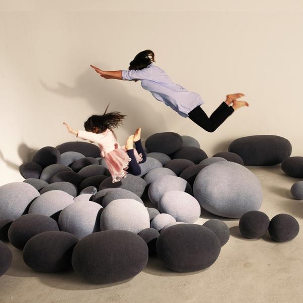 pillowstone, Stone, Gifts, soft pillowcase