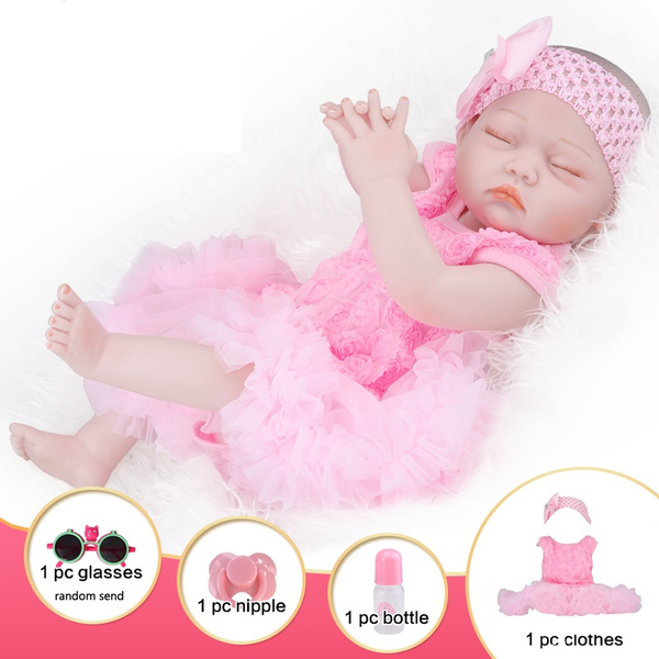pink, Gifts, doll, Silicone