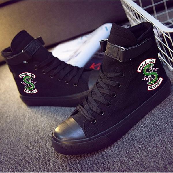 Riverdale Unisex High Canvas Shoes