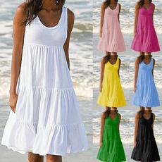 Summer, Fashion, Necks, Skirts