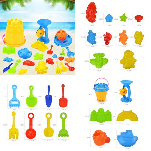 beachtoyset, Toy, Colorful, toyset