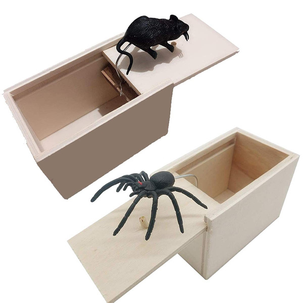 Box, Funny, spidermouse, scarytoy