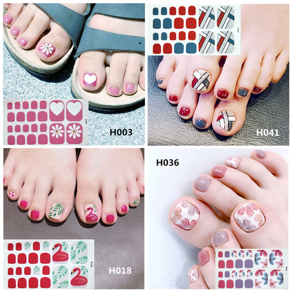nail decoration, Nails, nail decals, toenailsticker