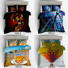 3pcsbeddingset, Fashion, quiltcover, Bedding