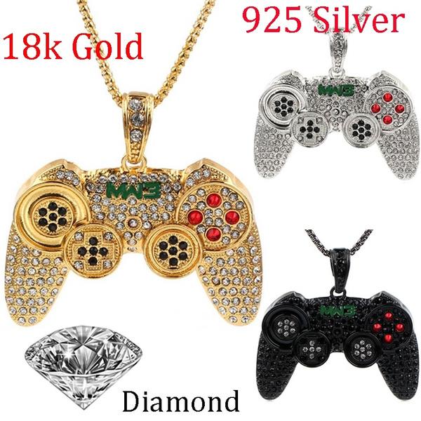Video Games, Fashion, 925 sterling silver, Cross Pendant