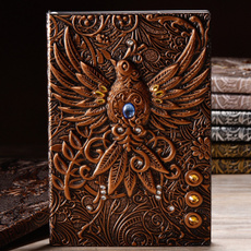 retronotebook, journaldiary, leathernotebook, leather
