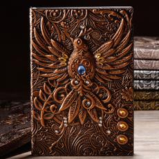 retronotebook, journaldiary, leathernotebook, leather