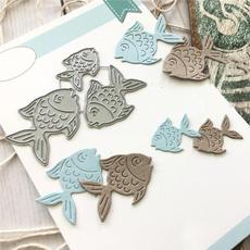 diarydecoration, fishmetalcuttingdie, carftdie, metalcuttingdie