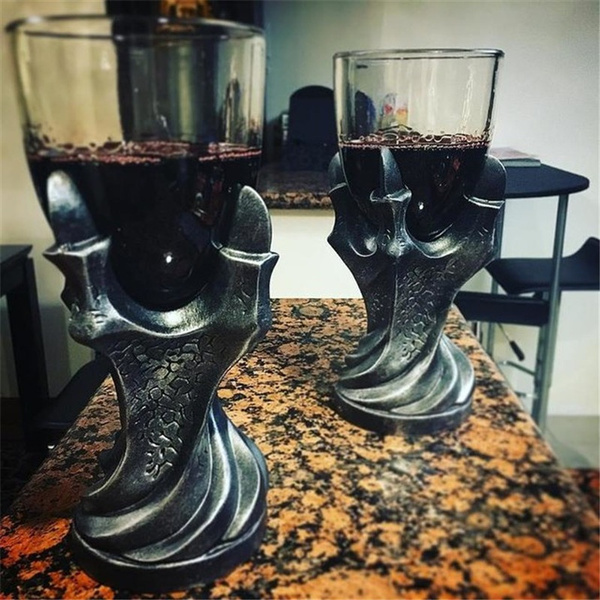 Goth, Cup, Home & Living, Glass