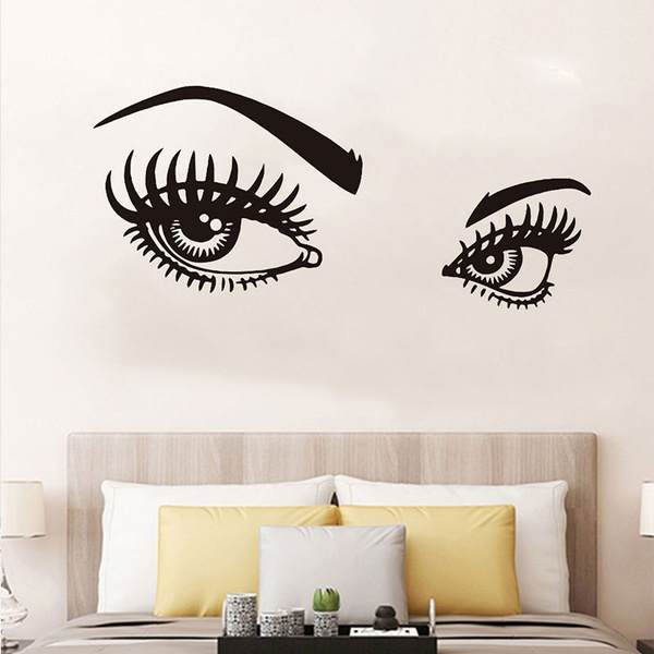 wallstickersampmural, Decor, eye, Home Decor