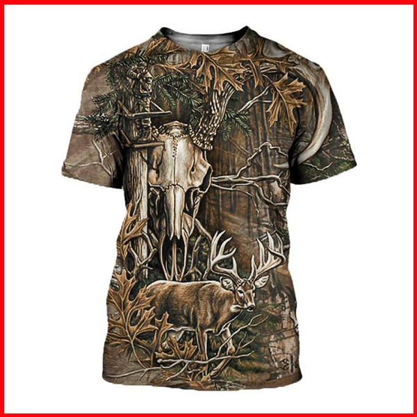 Summer, Fashion, Shirt, Hunting