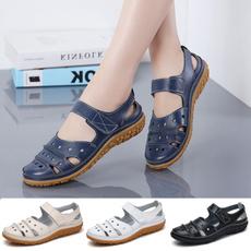 flatsampoxford, Plus Size, Women Sandals, moccasin