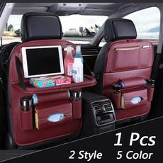 Storage, carseatbackorganizerbag, carseat, leather