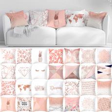 pink, case, Decoração, gold